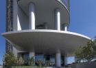 Porsche Design Tower, Lobby Side