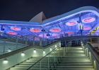 American Airlines Arena Solar Canopy, Night View