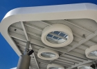 American Airlines Arena Solar Canopy, ACM Fascia Soffit