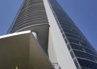 Porsche Design Tower, Close Up